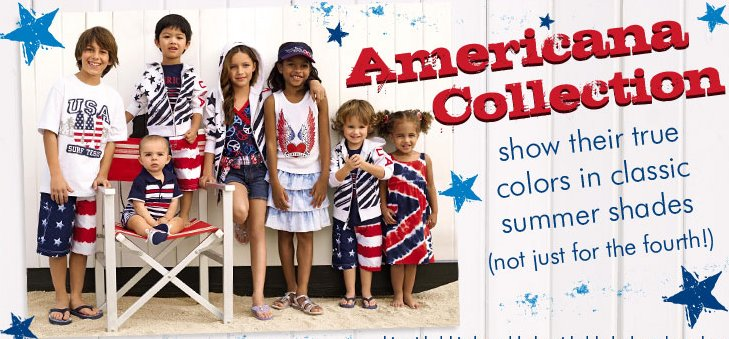 Childrens Place Americana Collection