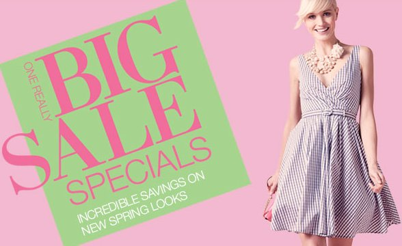 Lord and Taylor Big Sale Event