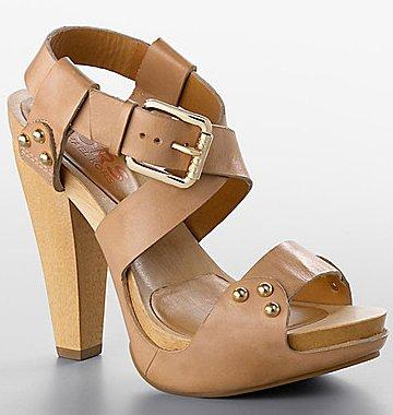 MICHAEL KORS Kingston Platform Studded Leather Sandals