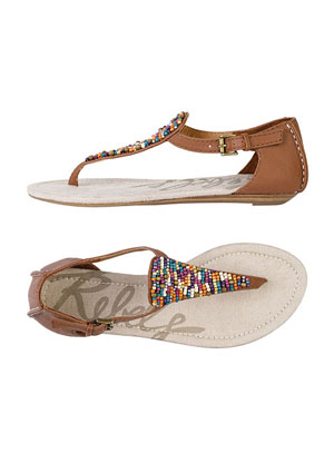 rebels shira beaded ankle sandal