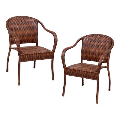 SONOMA outdoors Wicker Bistro Chairs