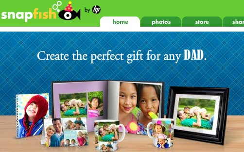 snapfish gifts for dad