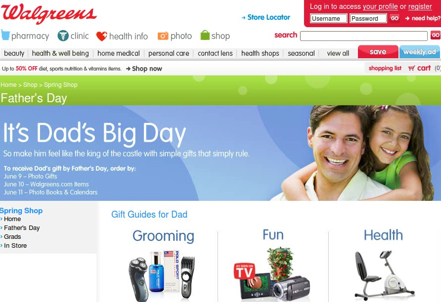 walgreens fathers day photo gifts