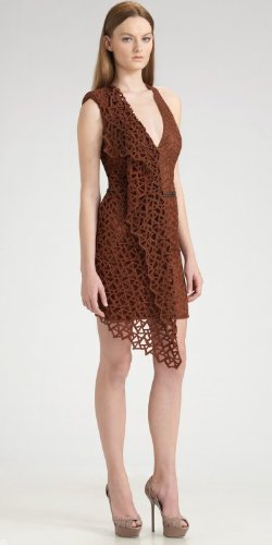 Akris Belted Trapezoid Dress