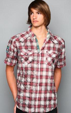 Alex Chain Link Plaid Shirt