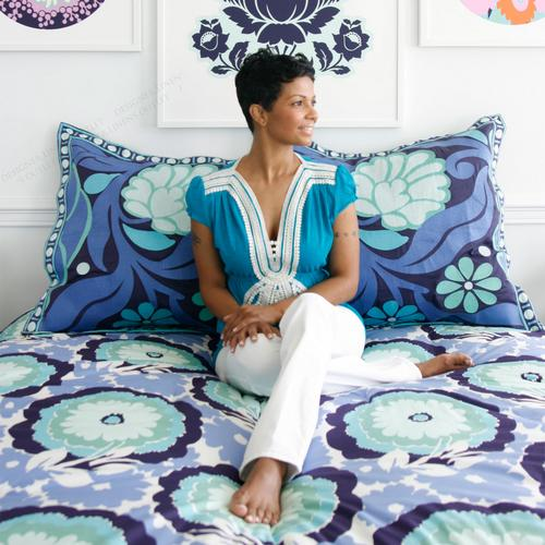 Amy Butler Dream Poppy Comforter and Sham Set
