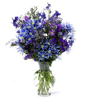 Blues Flower Bouquet
