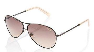 Cole Haan C669 Metal Aviator Sunglasses