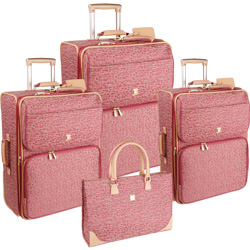 Diane von Furstenberg Luggage Signature VI 4 Piece Luggage Set