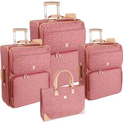 Diane von Furstenberg Luggage Signature VI 4 Piece Luggage Set