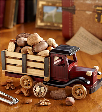 Happy Fathers Day Collectible Truck with Nuts