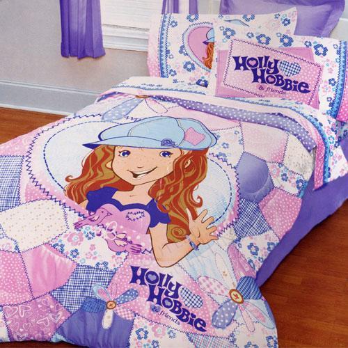 Holly Hobbie Friends Comforter