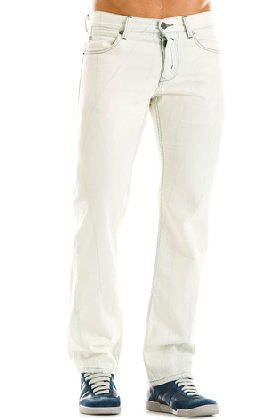 J127 - Pale Bleach Slim Fit