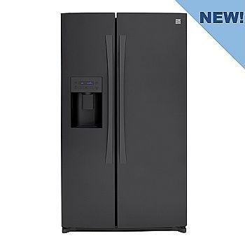 Kenmore Elite Black Side-by-Side Refrigerator