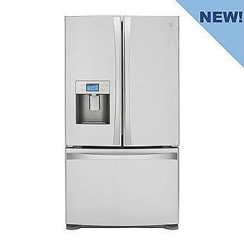 Kenmore Elite Stainless Steel French-Door Bottom-Freezer Refrigerator