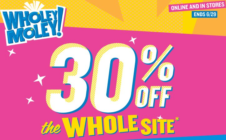 Old Navy Wholey Moley Offer