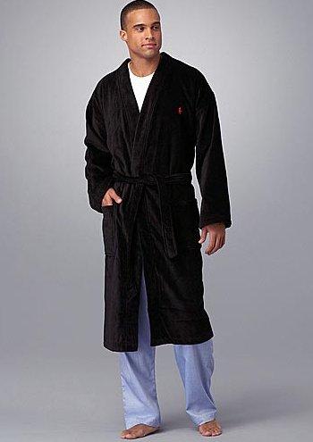 POLO RALPH LAUREN Velour Robe