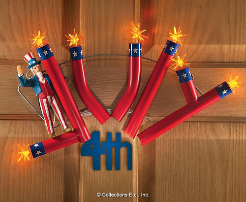 Patriotic 4th of July Home Door Decor