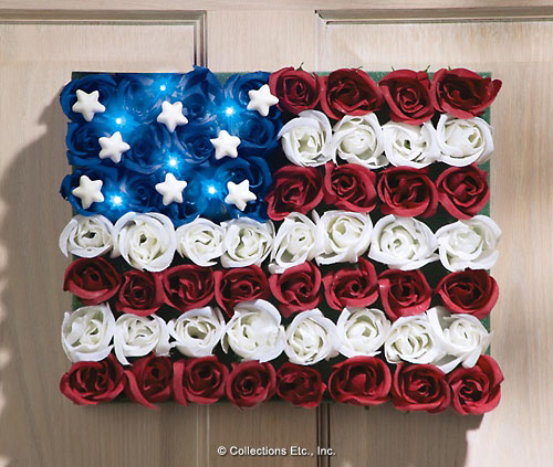 Collections etc sale save up to 50 on july 4th decor for American flag decoration ideas