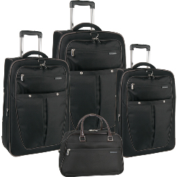Perry Ellis Sandbar 4 Piece Luggage Set