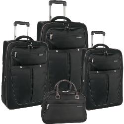 Perry Ellis Sandbar 4 Piece Luggage Set