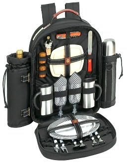 Picnic-Coffee Backpack for 2