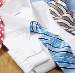 Pinpoint Oxford Buttondown Collar Dress Shirt