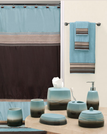 Mystique Shower Curtain and Bathroom Accessories
