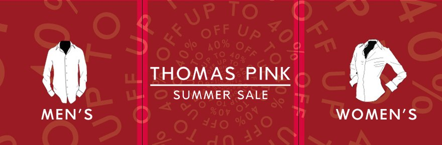Thomas Pink Sale