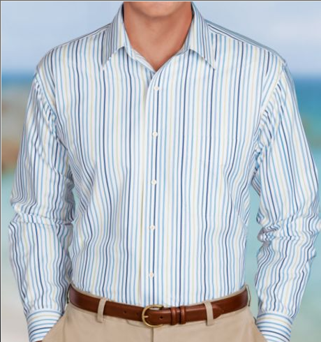 Traveler Point Collar Sportshirt