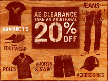 american eagle outfitters discounts