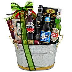 beers to you gift bucket