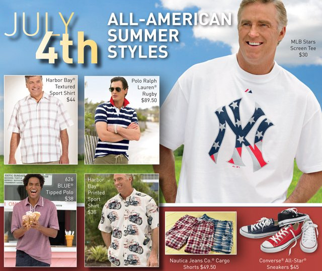 casual male july 4th styles