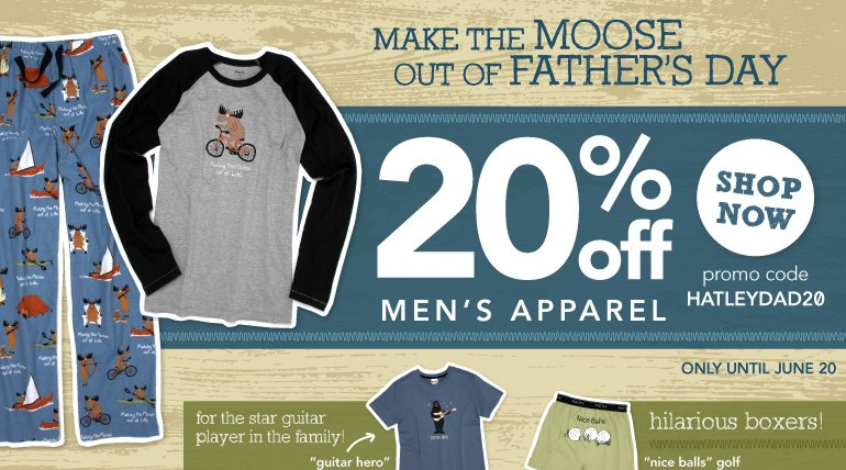 hatley fathers day offers