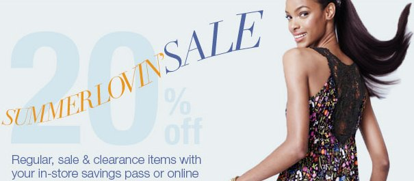 lord and taylor summer lovin sale