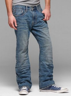 low rise boot jean