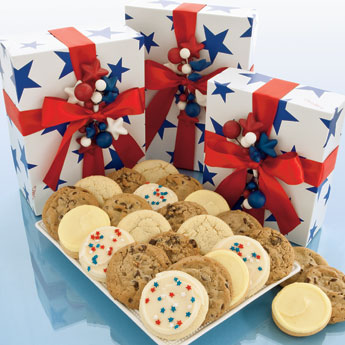 patriotic cookie box assorted