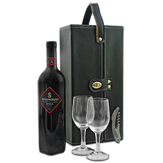 shiraz red wine picnic tote