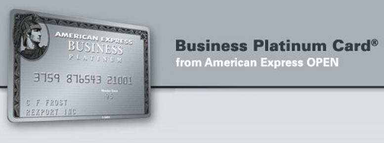 American Express Open-Business Platinum 2010 Card