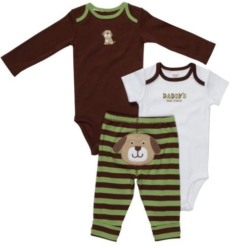 Carter's Boys 3-Piece Puppy Set
