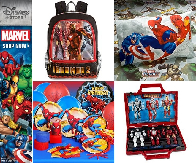 Disney Marvel Supplies