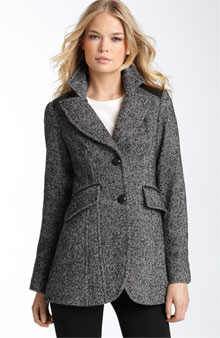 GUESS Tweed Riding Jacket