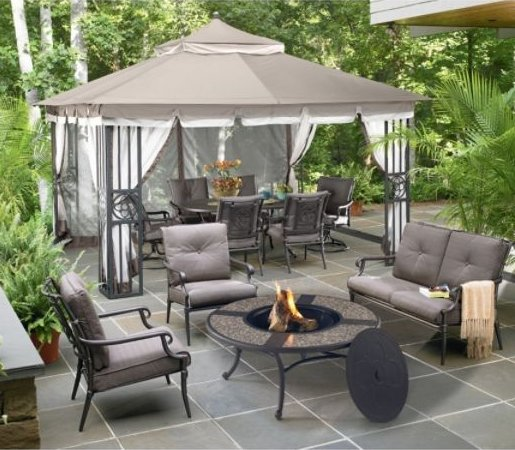 Garden Oasis San Marino 3-piece Patio Seating Set