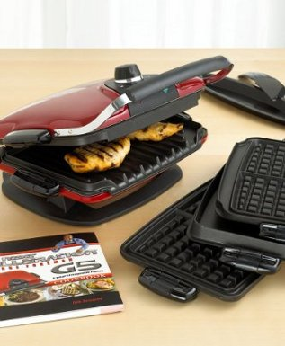 George Foreman GRP90WGR Grill