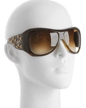 Gucci, Havana Tortoise Studded sunglasses