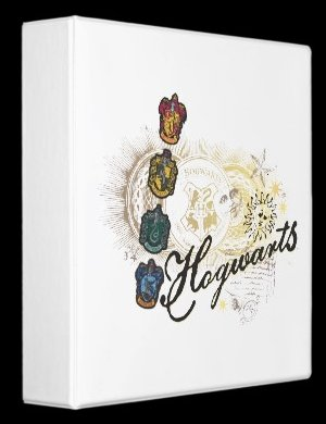 Hogwarts Logo and Professors 2 Binders