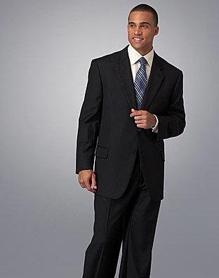 JOSEPH ABBOUD 2-Button Striped Suit