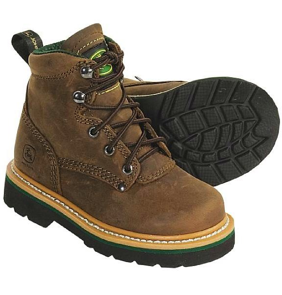 John Deere Footwear Johnny Popper Boots