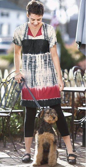 Knit Crescendo Tunic Dress