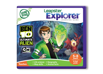 Leapster Explorer Learning Game- Ben 10